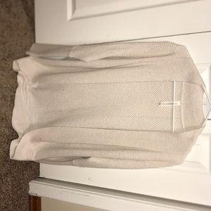 Cream knit cardigan